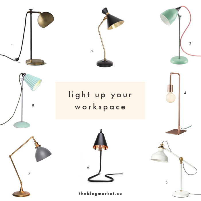 Beautiful Desk Lamps For Your Workspace The Blog Market