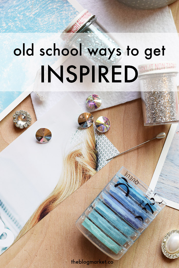 5 Old School Ways to Find Inspiration