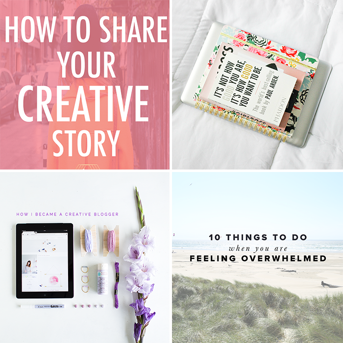 Weekly Resources on Creativity & Self Care | The Blog Market #weeklyresources