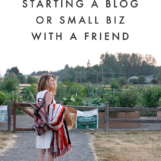 Considering blogging with a friend? Check out these tips on The Blog Market!