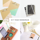 DIY Projects for Your Office or Creative Workspace | The Blog Market