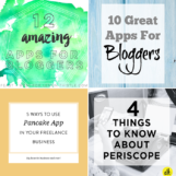Weekly Resources | Apps for Bloggers