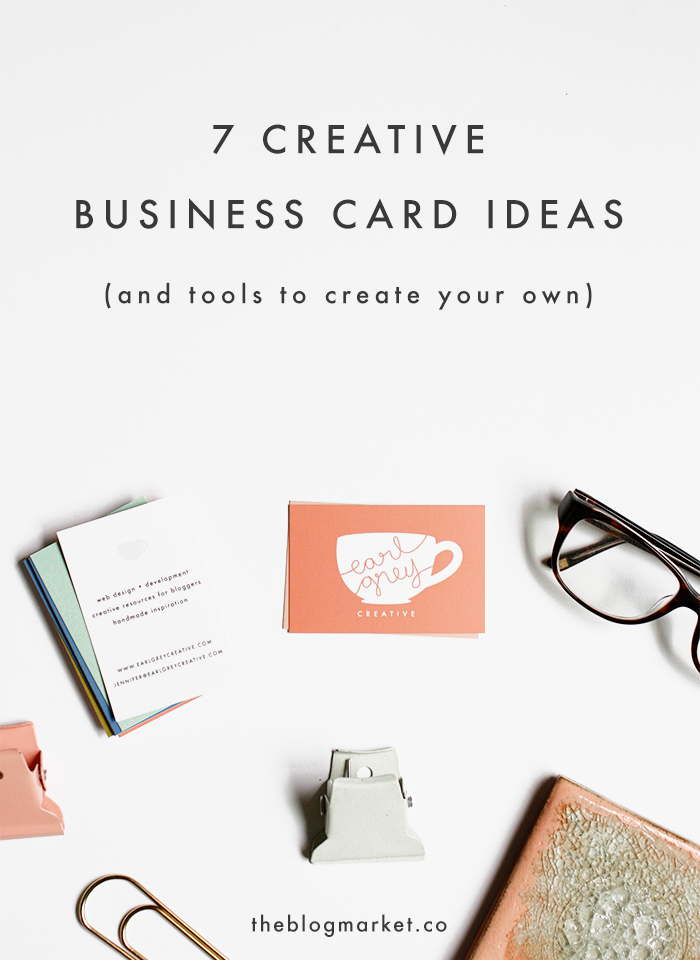 7 creative business card ideas tools to create your own reheart Image collections