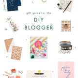 Gift Guide for the DIY Blogger | The Blog Market