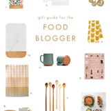 Gift Guide for the Food Blogger | The Blog Market