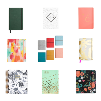Best 2016 Planners | The Blog Market