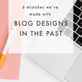 Blog Design Mistakes