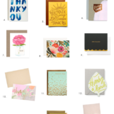 15 Thank You Cards for Everyone in Your Life | The Blog Market