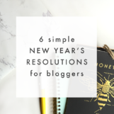 New Year's Resolutions for Bloggers | The Blog Market