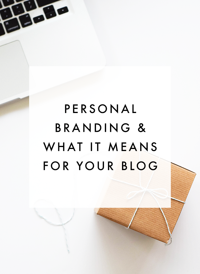 On building a personal brand based off your blog