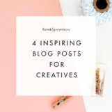Weekly Resources: Inspiration for Creatives via The Blog Market