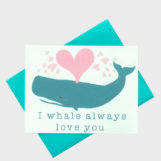10 Cute & Clever Valentine's Day Cards from Etsy | The Blog Market