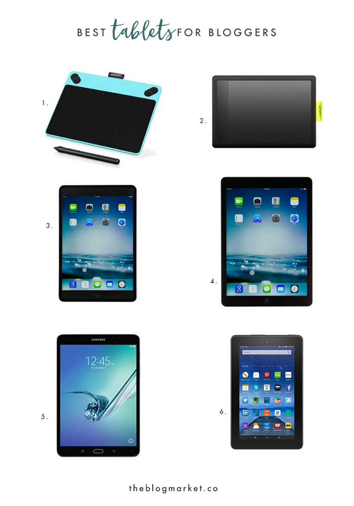 Best Tablets for Bloggers | The Blog Market