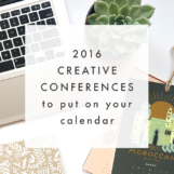2016 Creative Conferences to Put on Your Calendar | The Blog Market