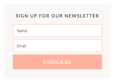 how to create opt in form in mailchimp