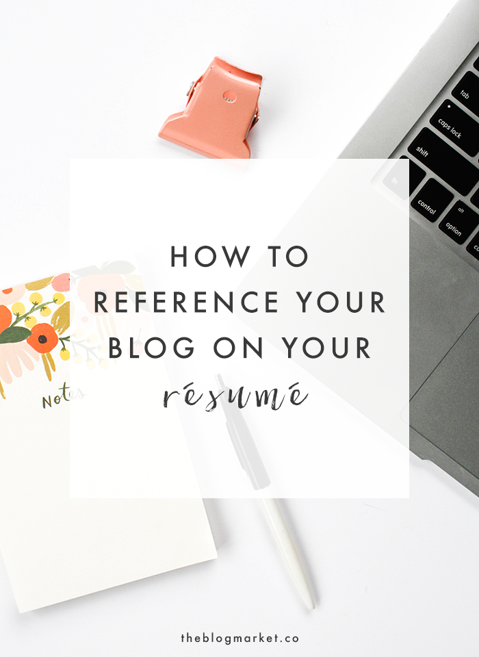how to reference your blog on your resume   the blog markethow to reference your blog on your resume   the blog market