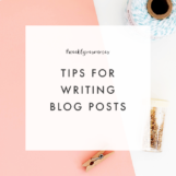 Tips for Writing Blog Posts | The Blog Market