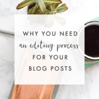 Why You Need an Editing Process   The Blog Market