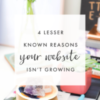 4 Lesser Known Reasons Your Website Isn't Growing | The Blog Market