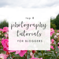 Top Photography Tutorials for Bloggers