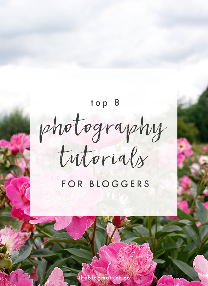 Top Photography Tutorials for Bloggers   The Blog Market