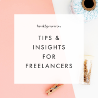 Weekly Resources | Tips & Insights for Freelancers