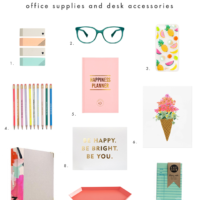 Create Your Space | Colorful + Crafty Office Supplies