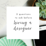 Questions to Ask Before Hiring a Designer | The Blog Market
