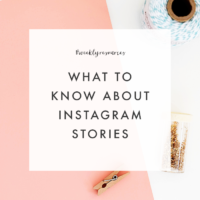 What You Should Know About Instagram Stories - The Blog Market