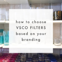 Best VSCO Filters to Choose Based On Your Instagram Color Palette - via The Blog Market