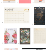Our top 10 favorite 2017 calendars | The Blog Market