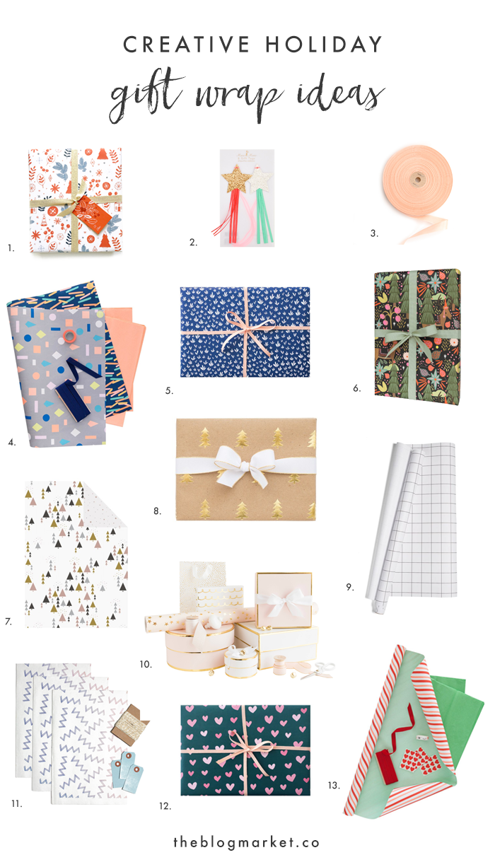 Creative Holiday Gift Wrap Ideas | The Blog Market