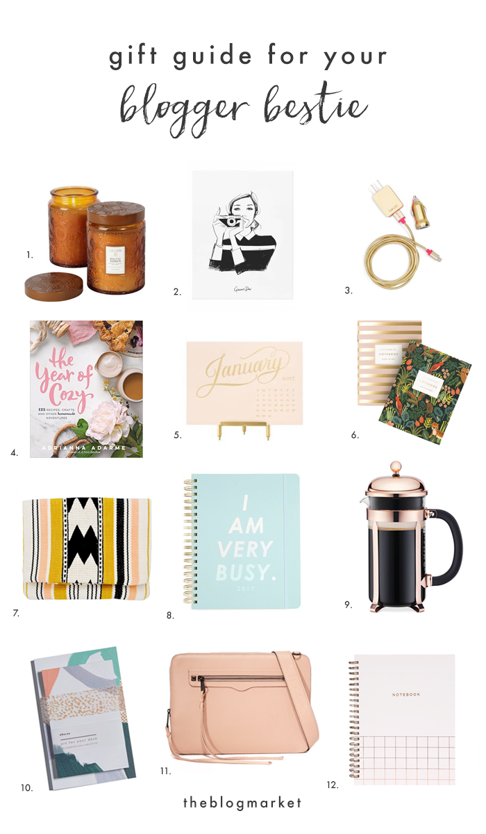 Gift Guide For Your Blogger Bestie | The Blog Market