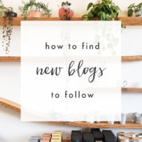 How to Find New Blogs to Follow