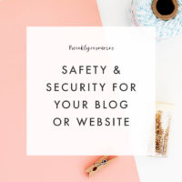 Weekly Resources: Safety & Security for Blog & Business
