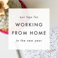 Work from Home Tips for the New Year