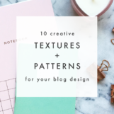 10 Creative Textures & Patterns for Your Blog Design