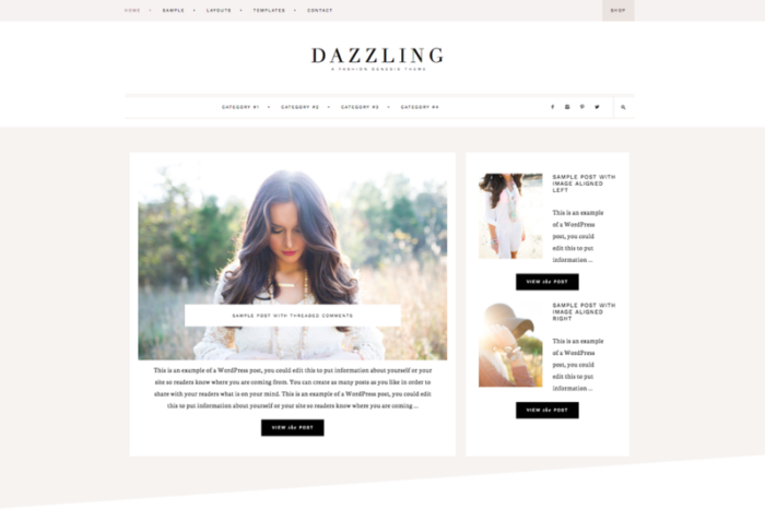 Dazzling Theme by Restored 316