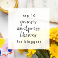 Top 10 Genesis WordPress Themes for Bloggers