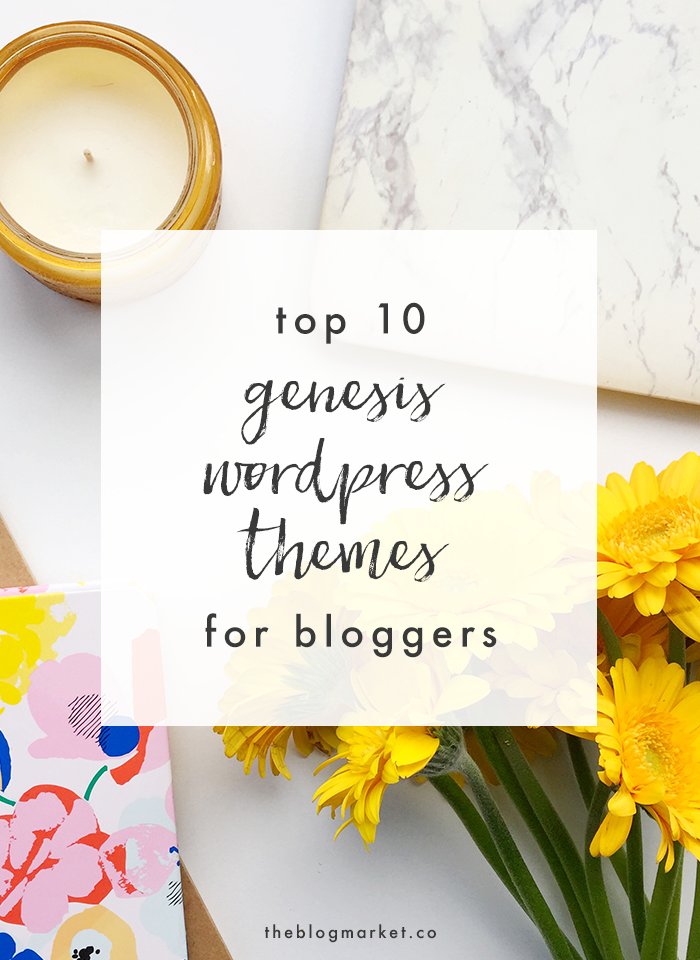Genesis WordPress Themes for Bloggers