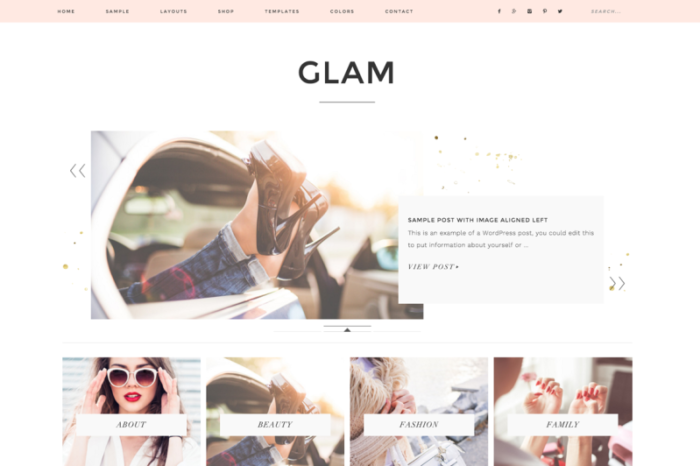 Glam Theme by Restored 316