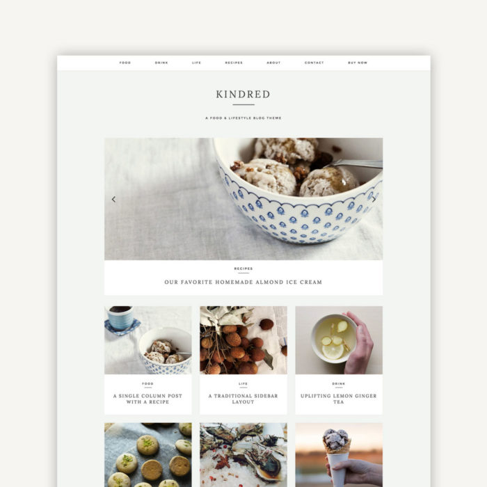 Kindred WordPress Theme by Station Seven