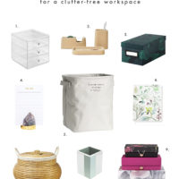 Organization Essentials for a Clutter-Free Workspace