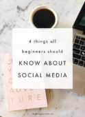 4 Things All Beginners Should Know About Social Media - The Blog Market