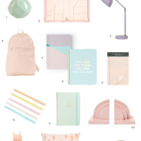 Spring-Inspired Pastel Office Decor & Accessories