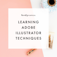 Weekly Resources | Learning Adobe Illustrator Techniques