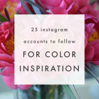 Top 25 Instagram Accounts to Follow for Color Inspiration