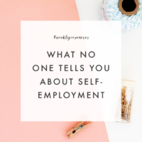 Weekly Resources | What No One Tells You About Self-Employment