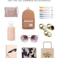 Summer Accessories for Bloggers Who Travel