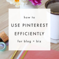 How to Use Pinterest Efficiently - the blog market